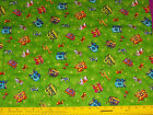 Circus of the Moon Red Rooster Fabric-Circus Wagons, Lions, Elephants, More