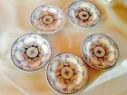 antique set of 5 Villeroy and Boch DRESDEN 3.75