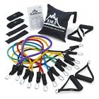 Ultimate Resistance Exercise Band Set with Starter Guide Bag Stregthen and Tone