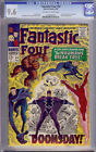 Fantastic Four Comic #59 CGC 9.6 Stan Lee Jack Kirby Silver Surfer Inhumans NM+
