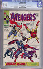 Avengers Comic #58 CGC 9.0 Origin of Vision Joins Buscema High Grade VF/NM WP