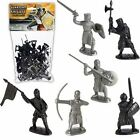 Medieval 36 Pc Guardian Knights Plastic Figures Set