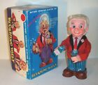 MINT 1960's BATTERY OPERATED BLUSHING WILLY BARTENDER TIN LITHO BAR TOY pours!