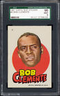 1967 Topps Test Pirates Stickers #6 Roberto Clemente SGC 96 MINT