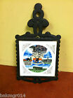 Vintage Nashville Tennessee Music City, U.S.A Cast Iron Trivet Holder