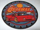 On Sale.. THE GETAWAY By WILLIAMS MINT NOS PINBALL MACHINE PLASTIC PROMO COASTER