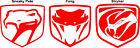 Dodge Viper Decals  Sneaky Pete Fang Stryker Choose Style Size