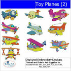 Embroidery Design CD Toy Planes2 10 Designs 9 Formats Threadart