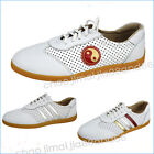 Summer air Martial Arts Tai Chi Wingchun Kung Fu Soft Cow leather shoes Footwear