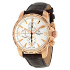 Certina DS Podium Chronograph Automatic Silver Dial Brown Leather Mens Watch