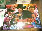 MAVERICK PINBALL MARQUEE sign new old stock arcade game part  OF51