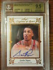 Scottie Pippen 2012 Leaf Legends of Sport auto BGS 9.5 w 10 # BA SP1 autograph