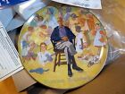 Norman Rockwell Remembered collector plate by Viletta - New in Box!!