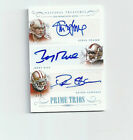 2014 National Treasures Jerry Rice Steve Young Deion Sanders Trios Auto 5 5