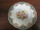 SEVRES Cabinet Plate - Chateau de Versailles, Hand Painted & Signed ca 1846