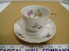 Vintage Porcelain Arzberg Bavarian Flowered Tea Cup & Saucer Set - EUC