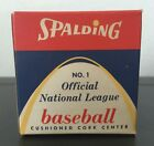 VINTAGE OFFICIAL SPALDING NATIONAL LEAGUE BASEBALL MLB NEW IN BOX SEALED RARE