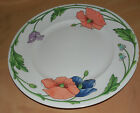 Villeroy & Boch AMAPOLA Floral Blue Purple Flowers DINNER Plate Made In Germany