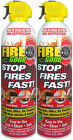 Fire Gone Portable Extinguisher Max ABC Pro 2 Pack Home Suppressant RV NEW