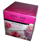 Anti Age Day Cream With Natural Rose Oil and Q10 Mishel,50 mL,Base for Makeup