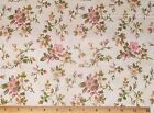 Wild roses Incarnadine Fabric by Yard Quilting 100% Cotton Robyn Pandolph