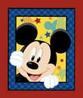 Disney Mickey Mouse Out To Play Character Kids 47524 Cotton Fabric Wall PANEL