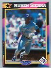 1992 Starting Lineup Ruben Sierra Texas Rangers Baseball Card
