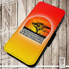 Lion King Funny - Printed Faux Leather Cover Case Flip Style. Mufasa Simba