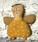 PATTERN PRIMITIVE ANGEL ORNIE DOLL!!  QUICK AND EASY!! EVERDAY ANGEL ORNAMENT!!