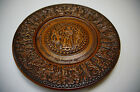 vintage traditional clay plate ancient Greece Dionysus pottery ceramic hand made
