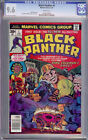 Marvel Black Panther Comic #1 CGC 9.6  Bronze Age WP 1st Solo Jack Kirby NM+