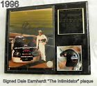 Dale Earnhardt SIGNED Wall Plaque 1996 by Racing Reflections (R R) 15