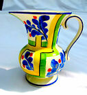 DITMAR URBACH LOSTRO CZECH CHINA WATER PITCHER VASE FLORAL DECO DESIGN BEAUTIFUL