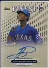 2013 Topps Finest Baseball Rookie Autographs Guide 30