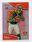 2011 Topps Finest - A.J. GREEN, 12 25 RED REFRACTOR Rookie Card #21, Bengals!