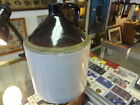 Antique 3 Gallon Whiskey Moonshine Pottery Jug Two-Tone Crock-USA MADE