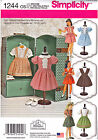 SEWING PATTERN Vintage Look 50's Style Dresses for 18