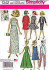 SEWING PATTERN Vintage 60's Style Clothing for 11-1/2