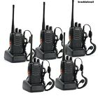 5 Pack Walkie Talkie Two Way Radio 2 Long Range Security Patrol Police Distance