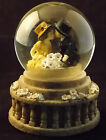 Westland Musical Water Globe Forever Young Series Snow Boy Girl Kissing #6233