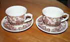 (Set of 2) Fair Winds by Alfred Meakin Staffordshire England Cup and Saucer