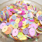 DIY 10mm 120pcs shiny Round loose sequins PaillDVtes sewing Wedding Pick colors