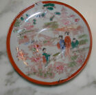 Darling Vintage Porcelain Hand Painted China Decorative Plate Dish Japan