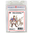 Prussian soldiers 40mm scale casting Prince August rubber moulds molds PA60