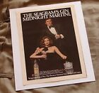 Seagram's Extra Dry Gin Vintage 1978 Print Ad