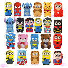 New Super Hero Cartoon Minions Cute 3D Case Cover For Apple iPod Touch 4 5 6 Gen