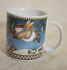 DEBBIE MUMM SNOW ANGEL VILLAGE MUG #3 SAKURA