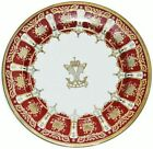 SET OF 12  RARE ARMORIAL PLATE OF NAWAB RAMPUR  ROYAL ARMS CREST