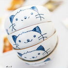 Ceramic Tableware Gift Set Cat Flower Bowl 4pcs/Set