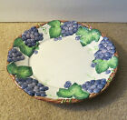 RETIRED 1989 GRAPE ARBOR FITZ and FLOYD  DINNER PLATE 11